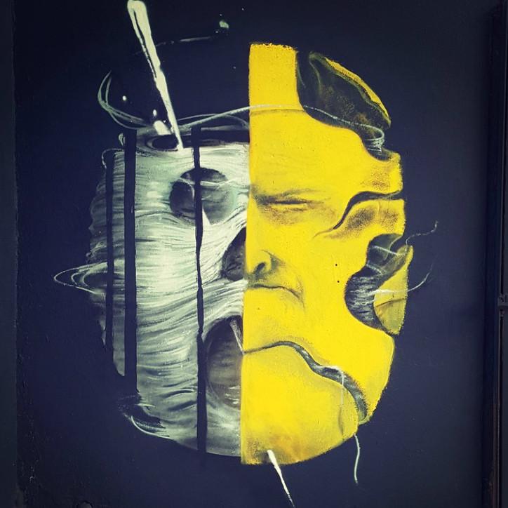 Fresque Maïlys Vallade + Sly2