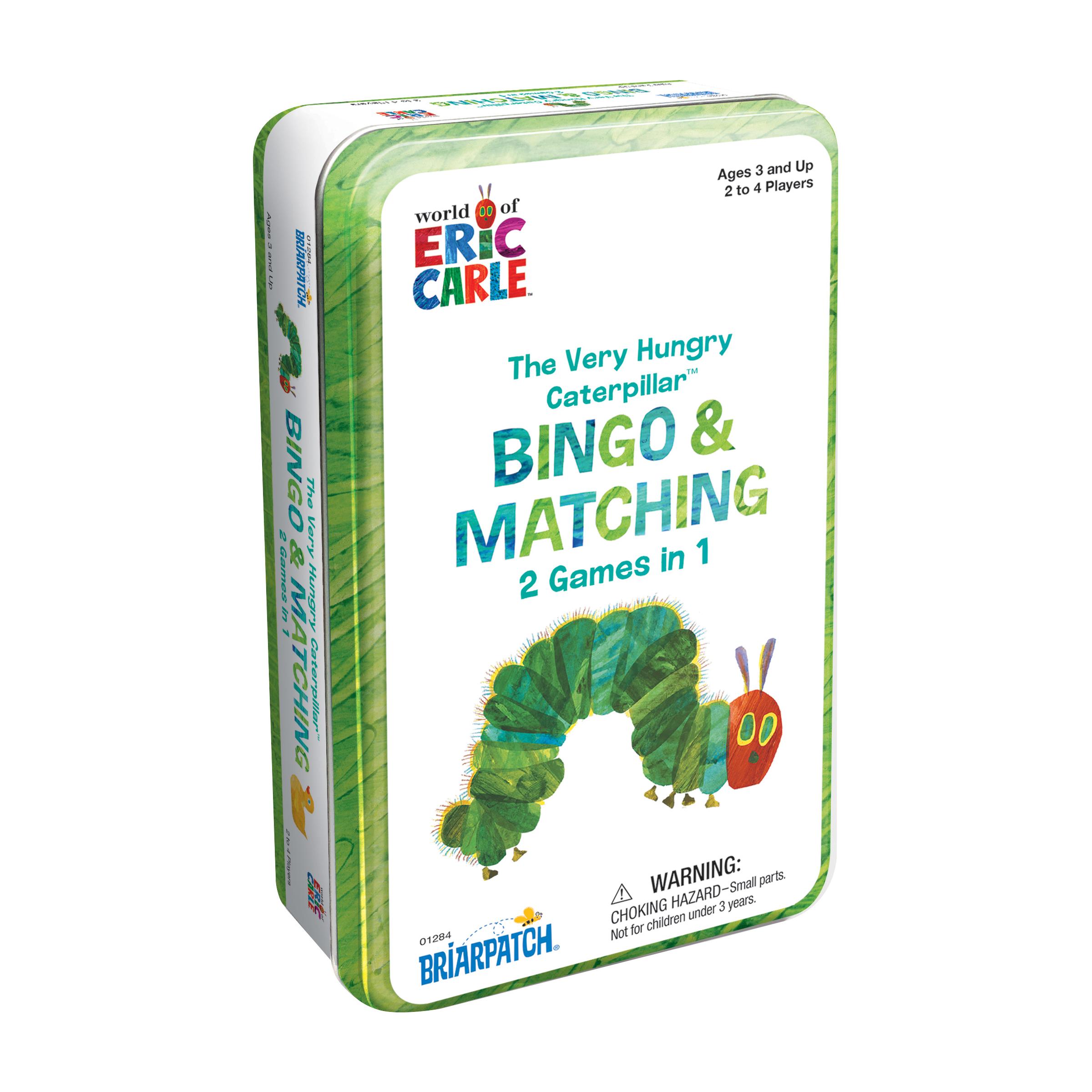 The Very Hungry Caterpillar Bingo & Matching Tin