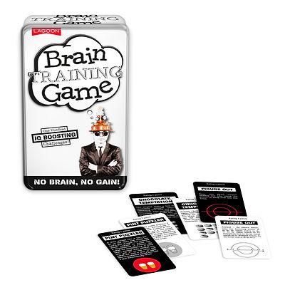 Brain Training Game Tin