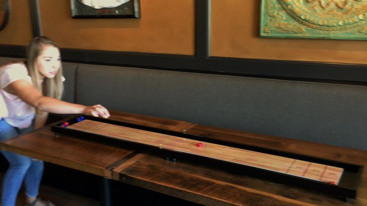 Table Top Shuffleboard Front Porch Clics