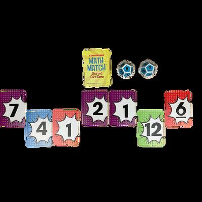 Scholastic Math Match Game