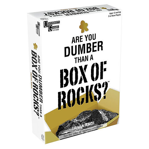 Are You Dumber Than a Box of Rocks?