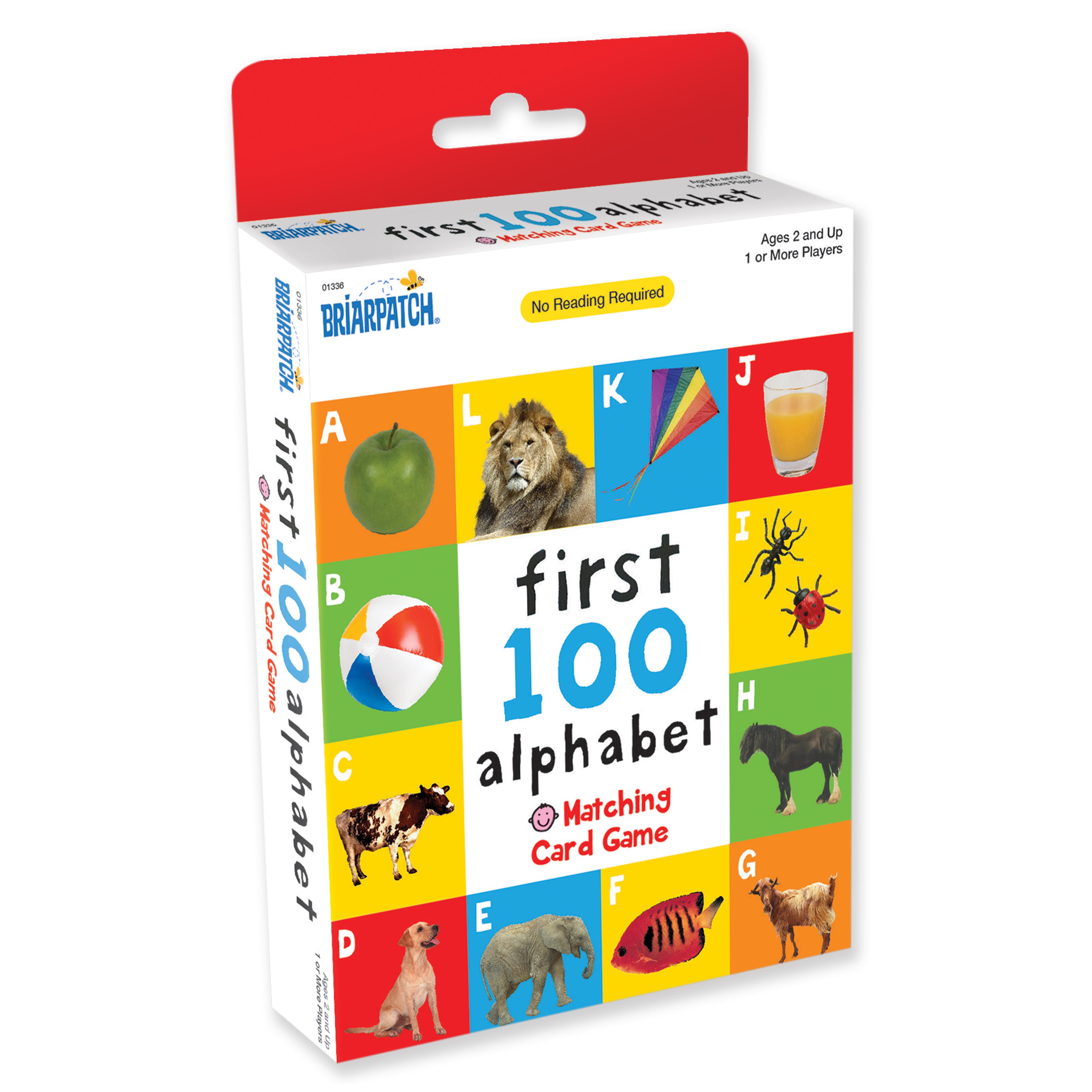 First 100 Matching Card Game Alphabet