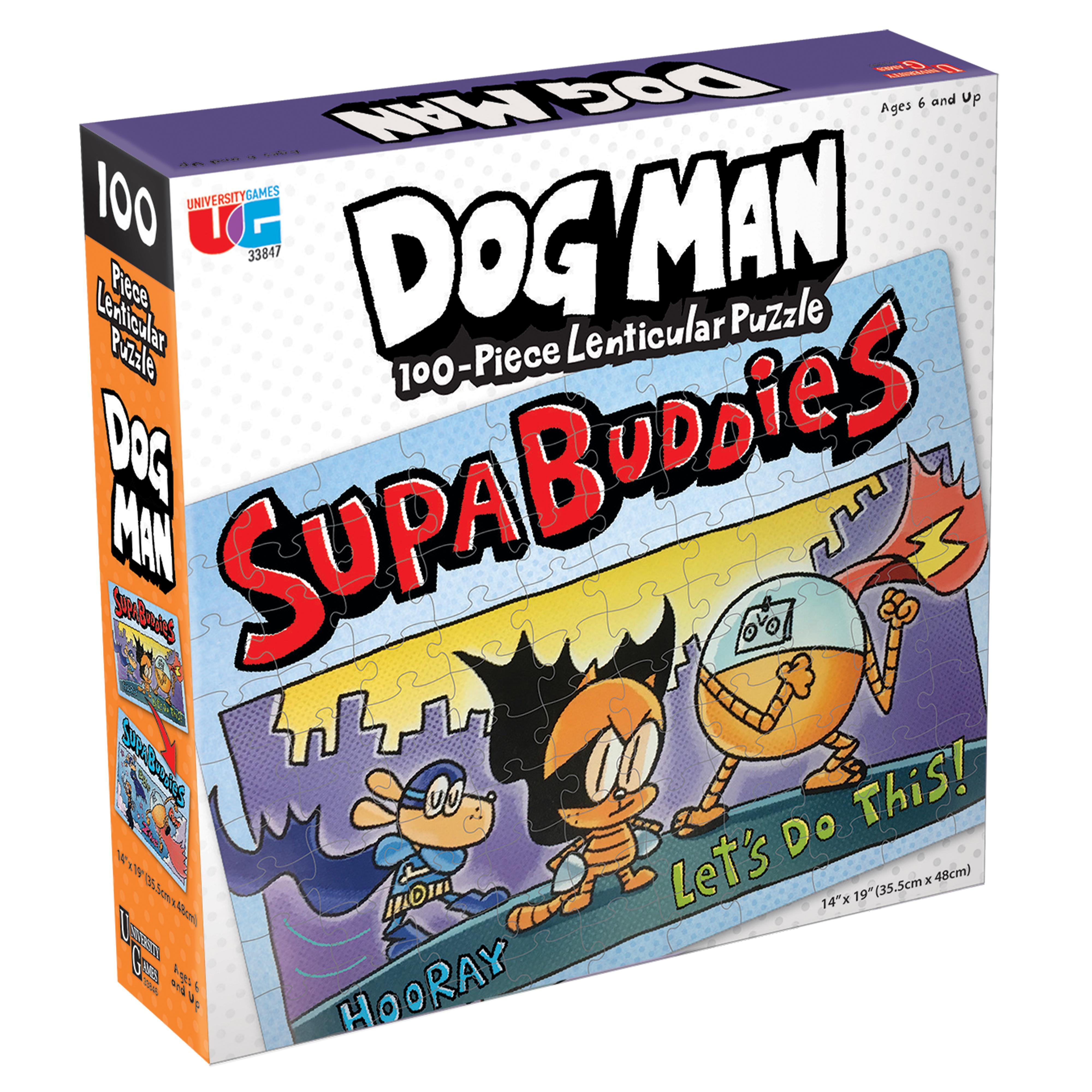 Dog Man Supa Buddies Puzzle