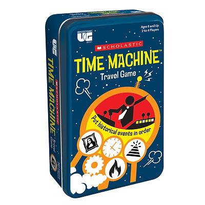 Scholastic Time Machine Travel Game