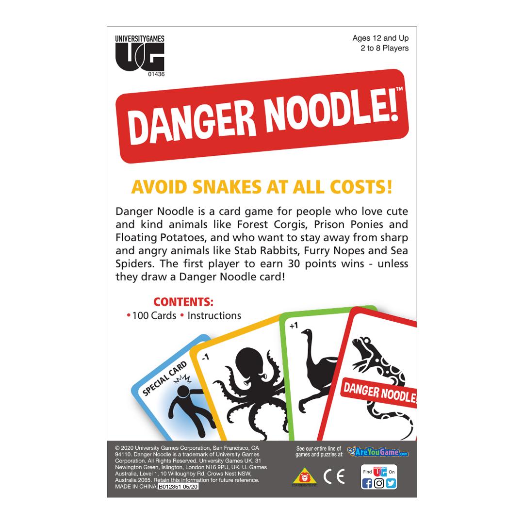 Danger Noodle Box Back