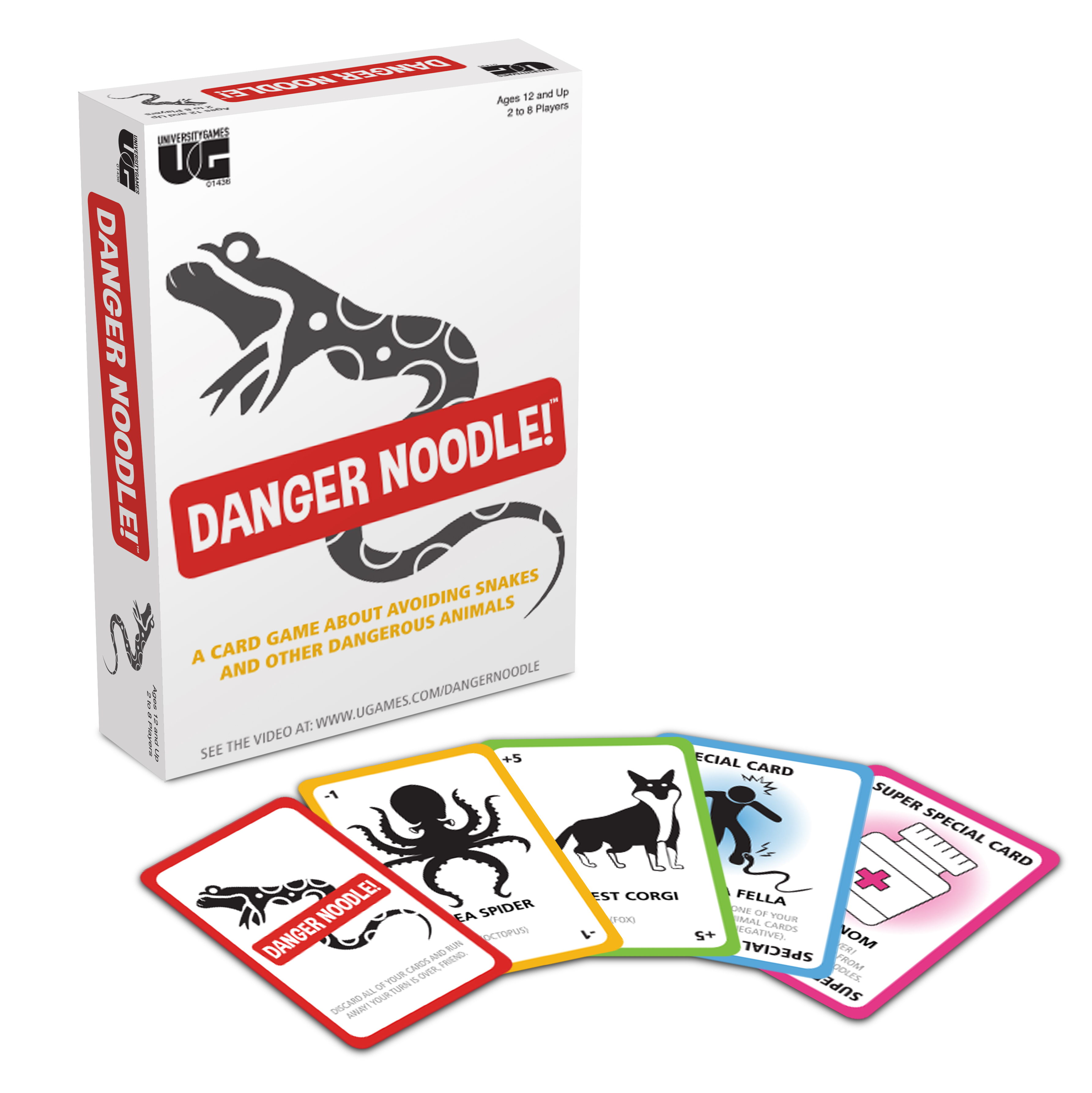 Danger Noodle with Components