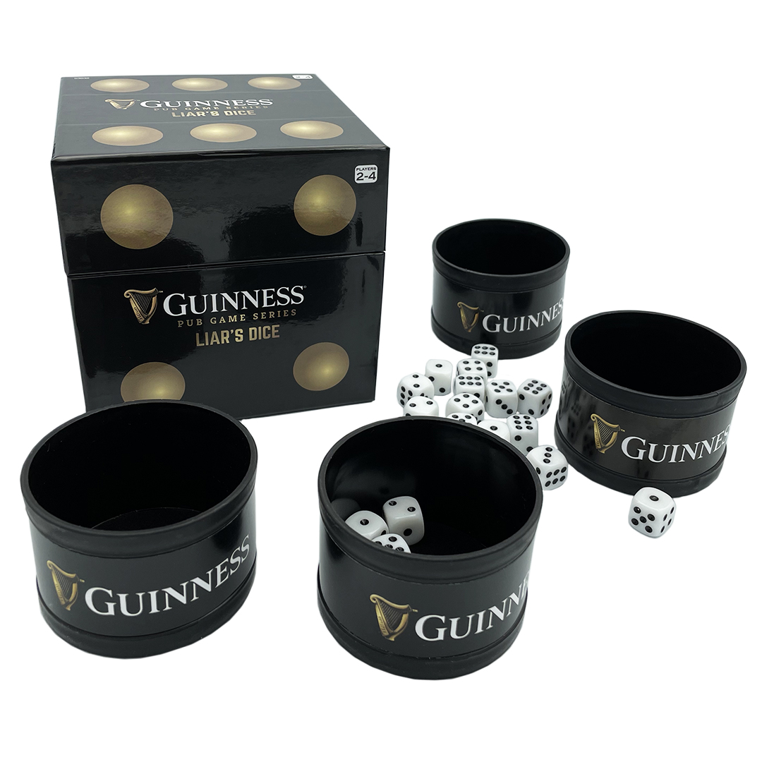 Guinness Games: Liar's Dice