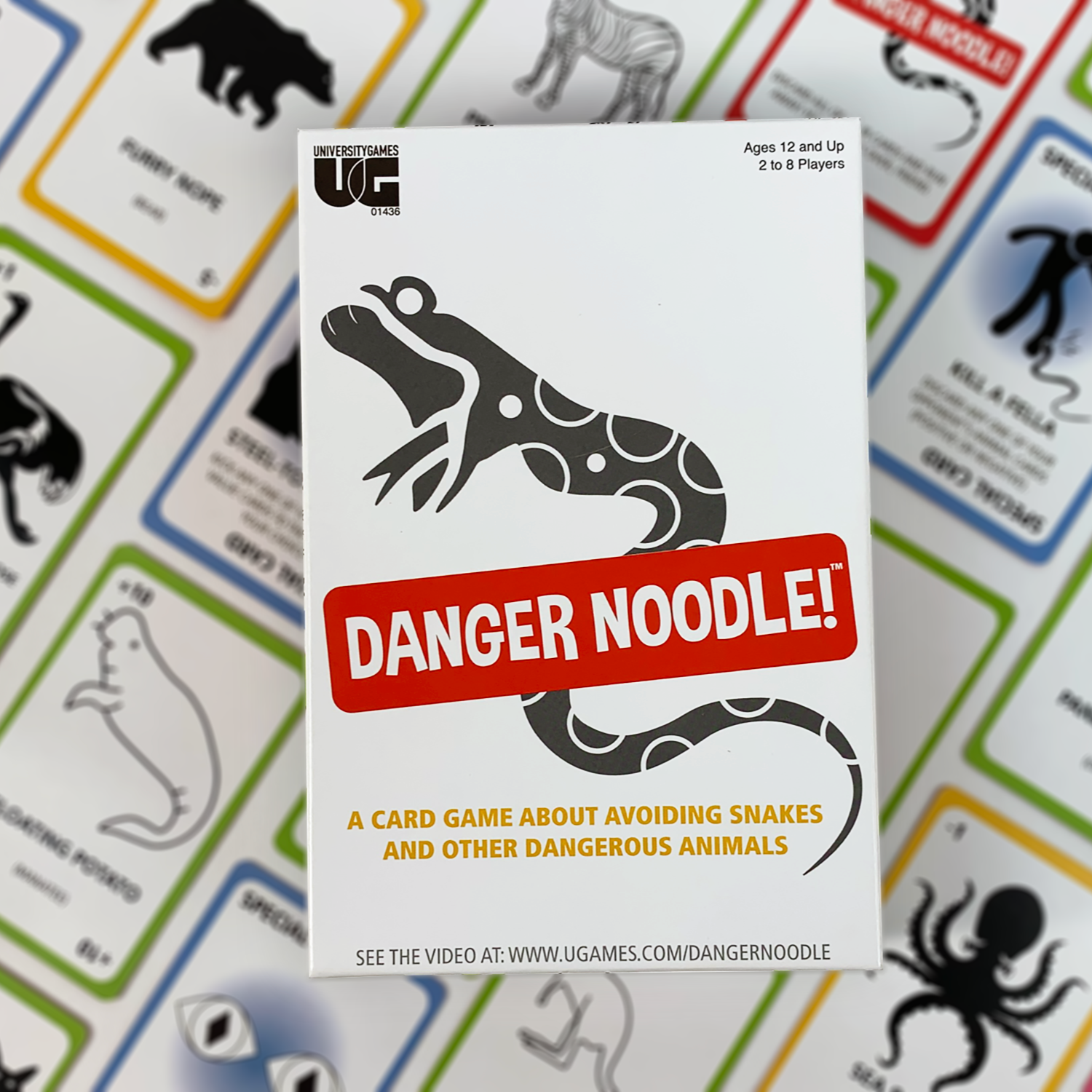 Danger Noodle Box and Cards
