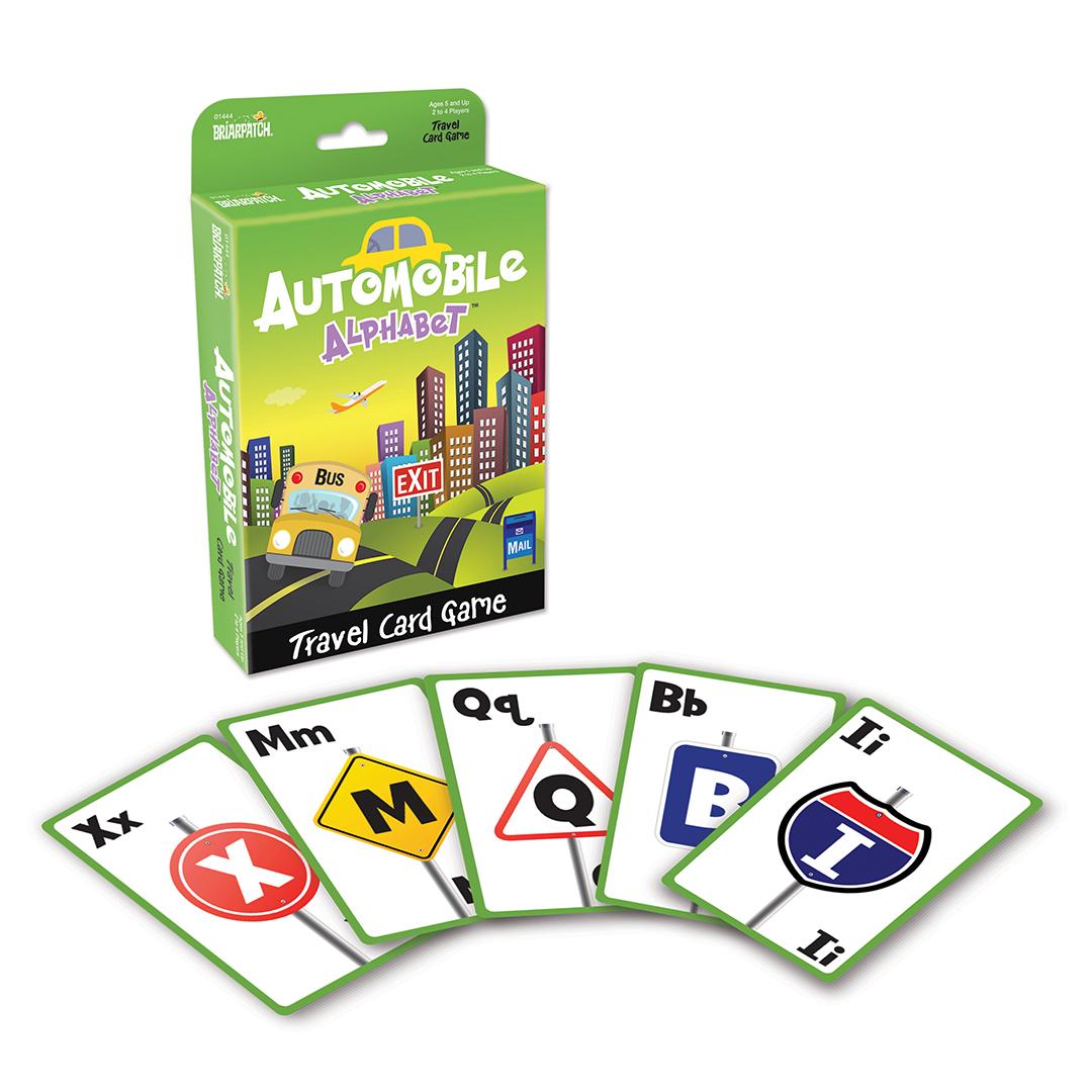 Automobile Alphabet Card Game