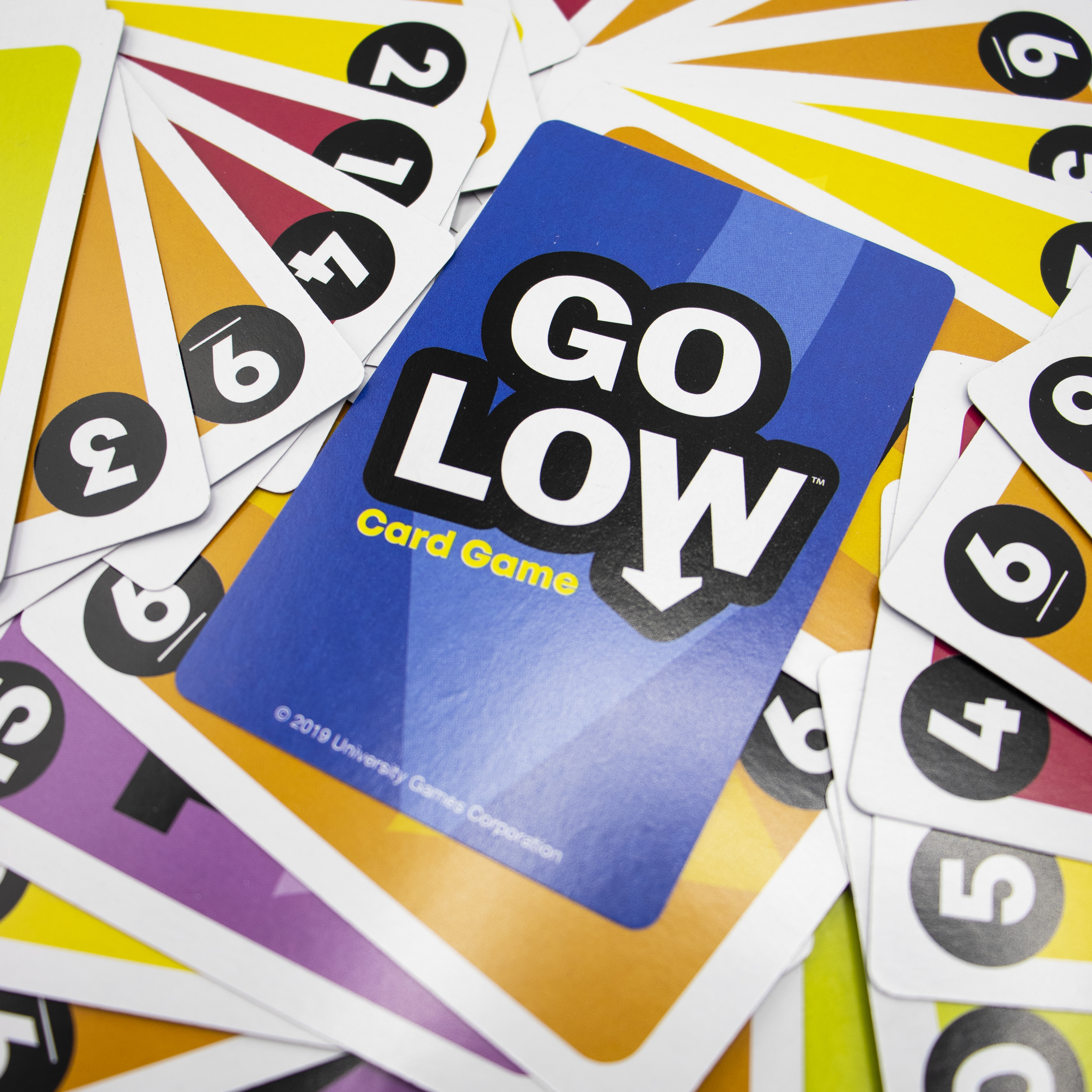 Go Low Card Game