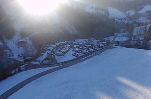 Campingplatz Untebuchschachner Winter
