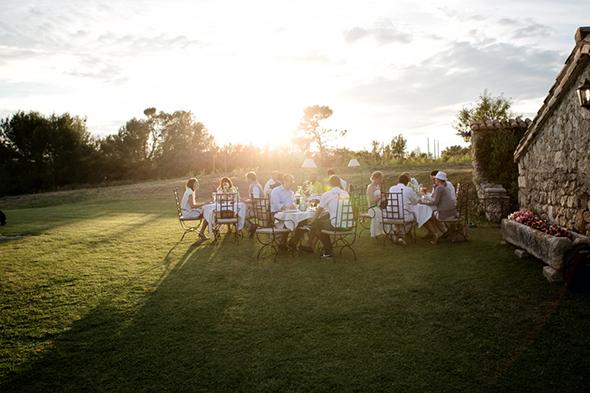 landscape wedding
