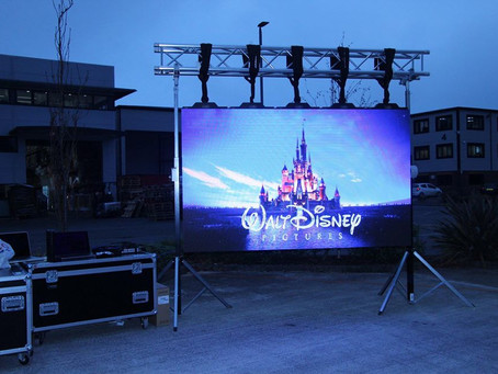 NEW LED SCREEN to hire out and for us to use!