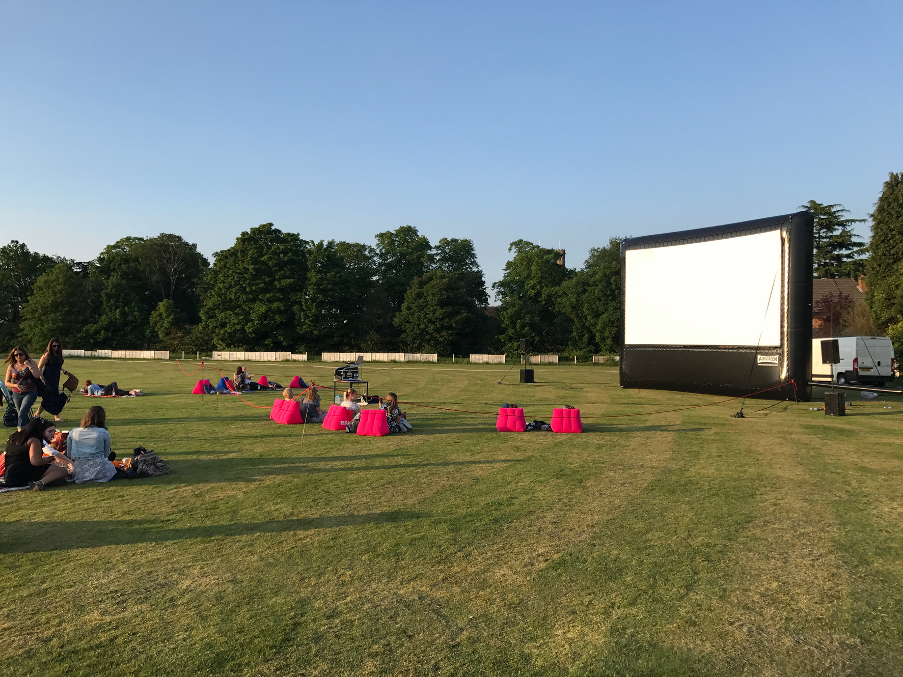 Open Air Film and Chill | Outdoor Cinema Hire