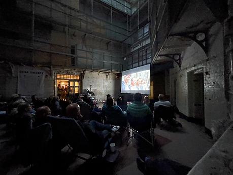 Cinema in portsmouth prison screening shawshank redeption