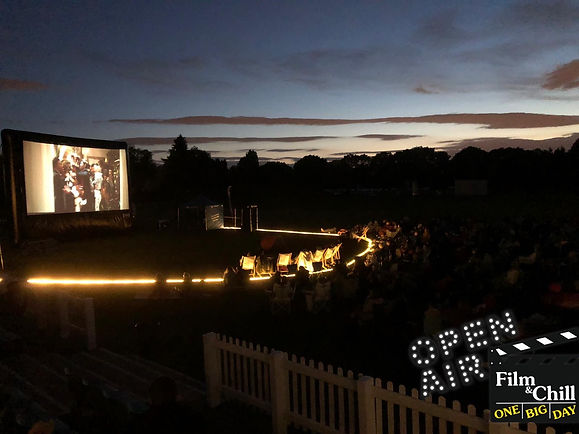 Chesterfield outdoor cinema