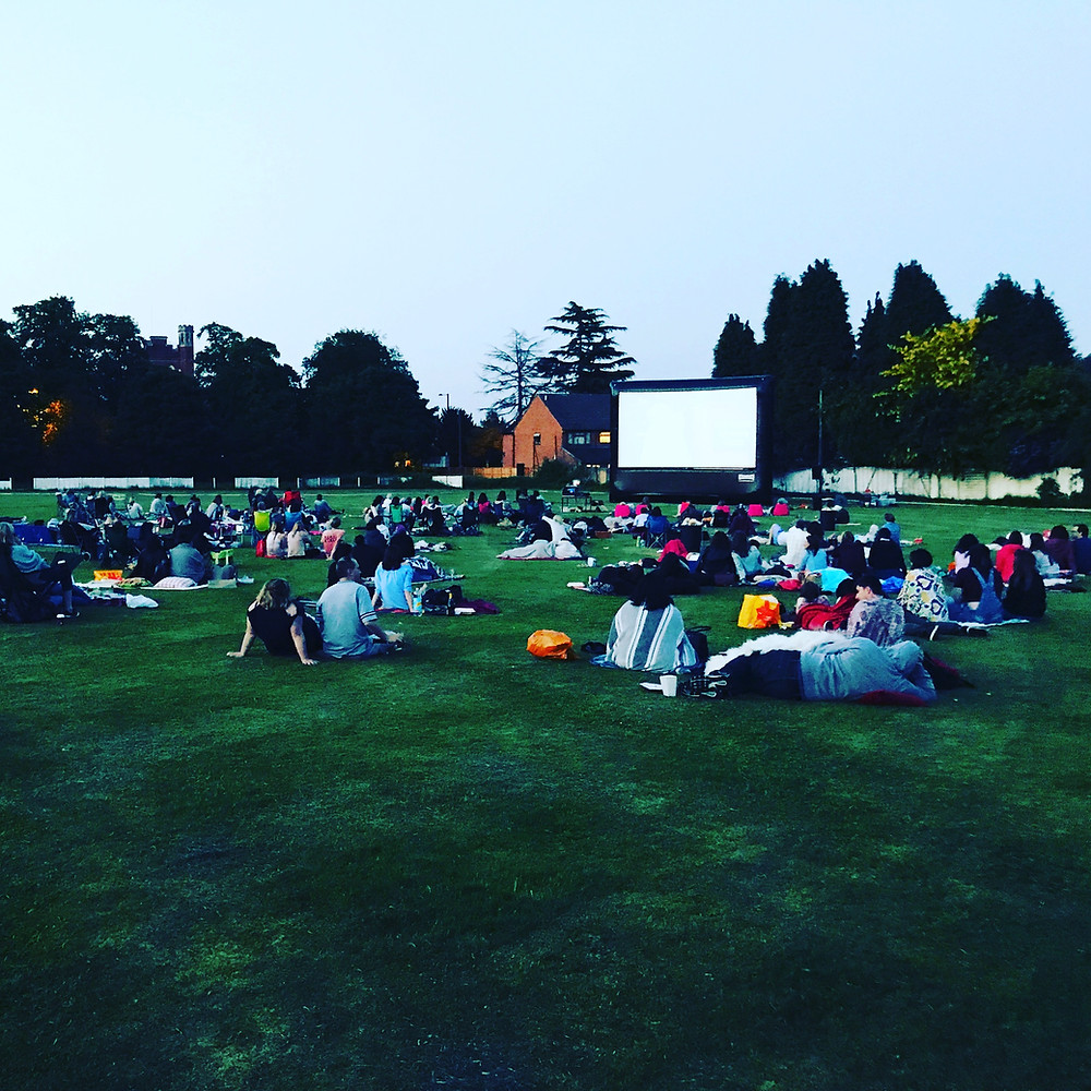 Open Air Cinema in Birmingham