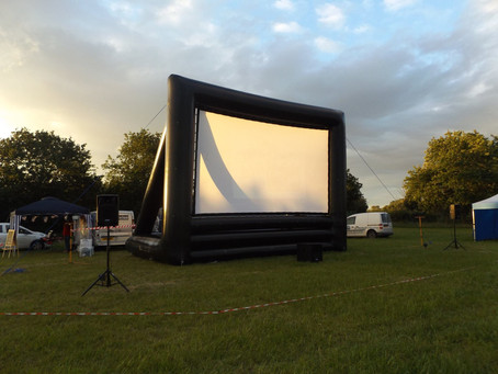 Outdoor Cinema Hire 2017 bookings already being taken!