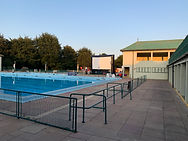 Outdoor cinema at peterborough lido