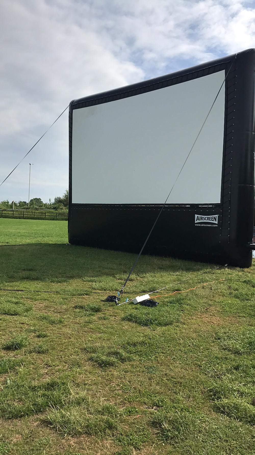 Open Air Cinema Screen
