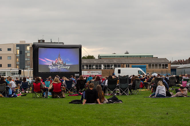 Shrewsbury outdoor cinema