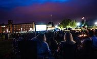 outdoor cinema in Uttoxeter
