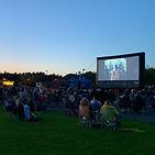 outdoor cinema at haydock park Racecourse