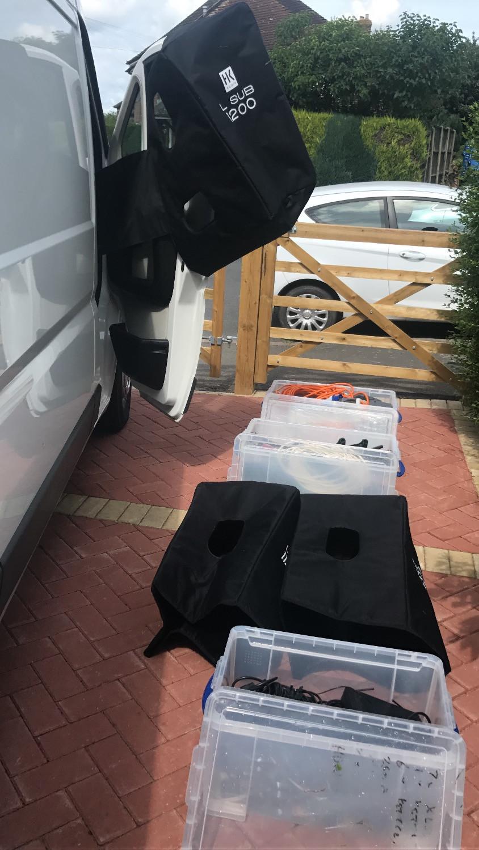 drying the equipment