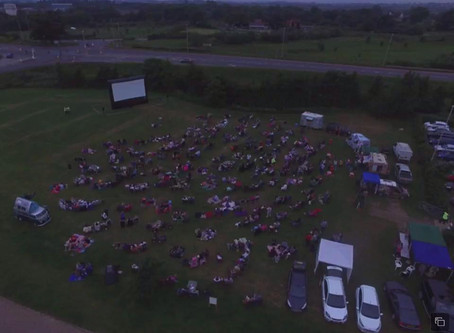 3 Things we need to setup our Outdoor Cinema Experience