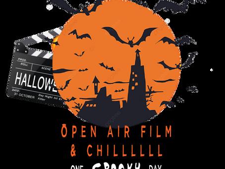 Halloween Outdoor cinema screening of Hocus Pocus at Shrewsbury College