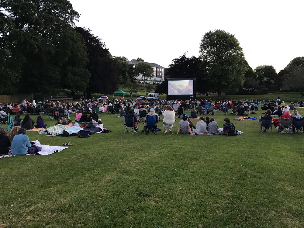 Open Air Cinema in Crediton