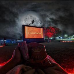 Halloween Outdoor cinema screening of Hocus Pocus at Kempton Park Racecourse
