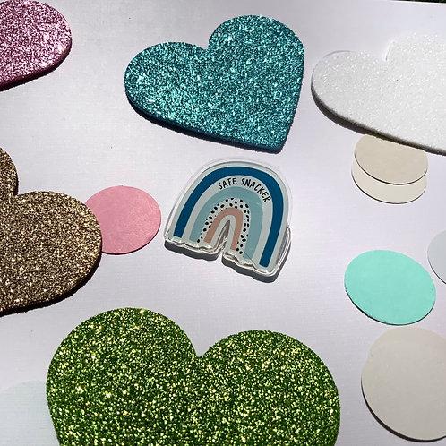Safe Snacker Rainbow Allergy Badge