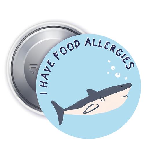 Shark Allergy Badge