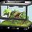 Thumbnail: Terrario in vetro nero 60x45 cm