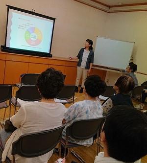 2019年8月22日 健康講座を開催しました