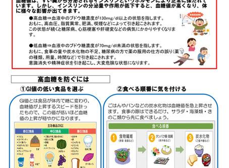 vol.224「高血糖を防ごう!!」