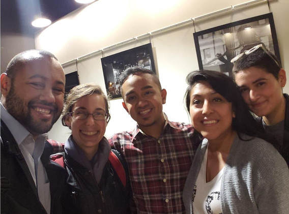 2019 CUE Fellows Adam Slade, Sara Shaw, Juan Sebastian Arias, Sendy Soto, and Ellie Mejia led this project in partnership with LSNA and LUCHA.