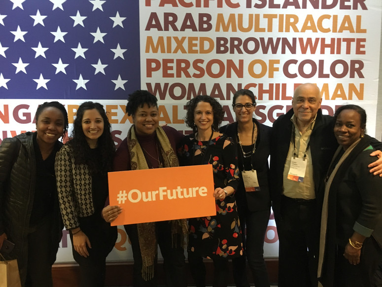 CUE partners with leaders from across our city and country, seen here at the 2018 PolicyLink conference.