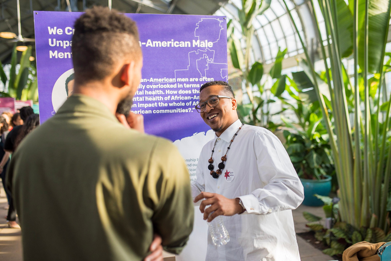 We're proud of the work our Fellows do to share their work -- the beautiful lessons and the difficult ones. Here, 2019 Fellow Maurice Robinson shares the story of his project at the 2019 Showcase.