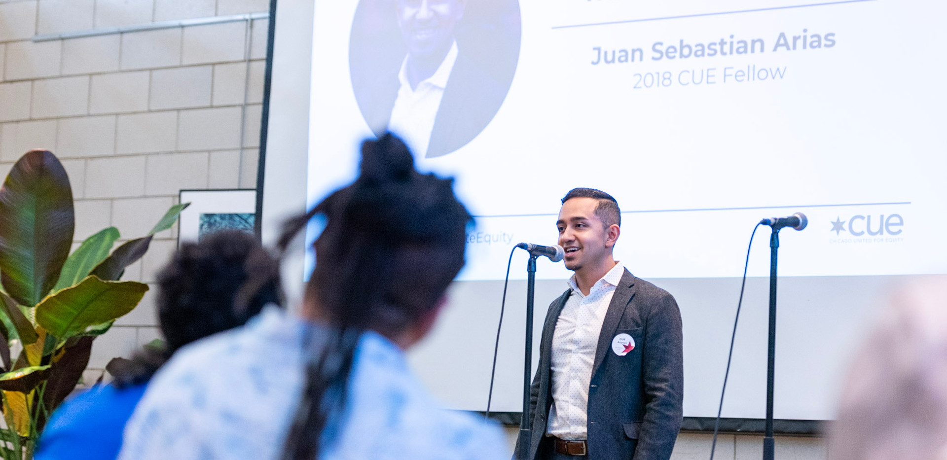 2018 CUE Fellow Juan Sebastian Arias tells the story of this project at the 2019 CUE Showcase at Garfield Park Conservatory.
