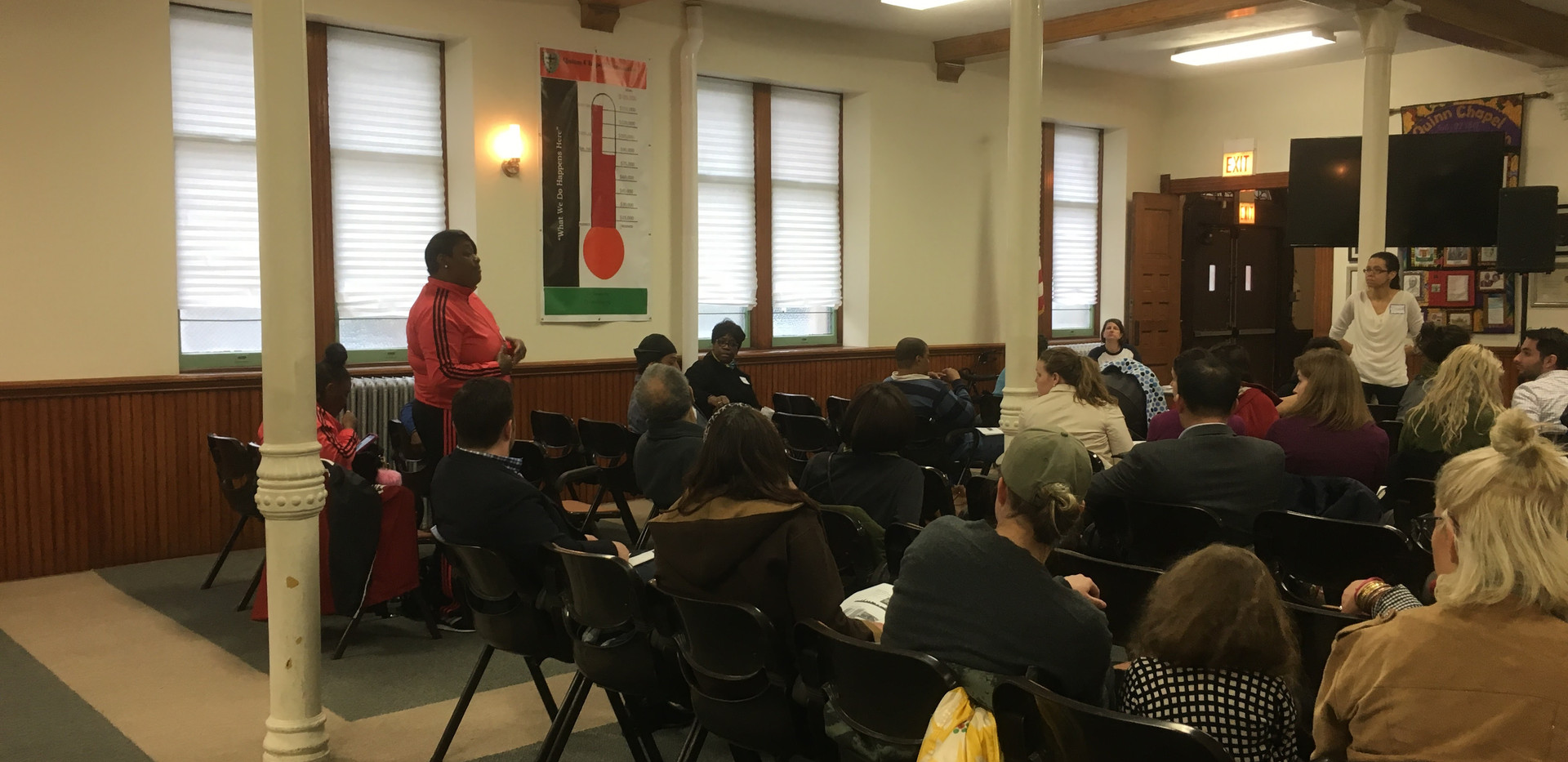 In May 2017, CUE held our first meeting aimed at connecting NTA families to citywide racial justice advocates. Here, NTA parent Audrey Johnson tells the story of NTA.