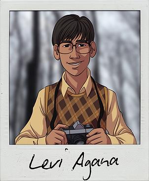 Levi Agana Coming Soon Polaroid