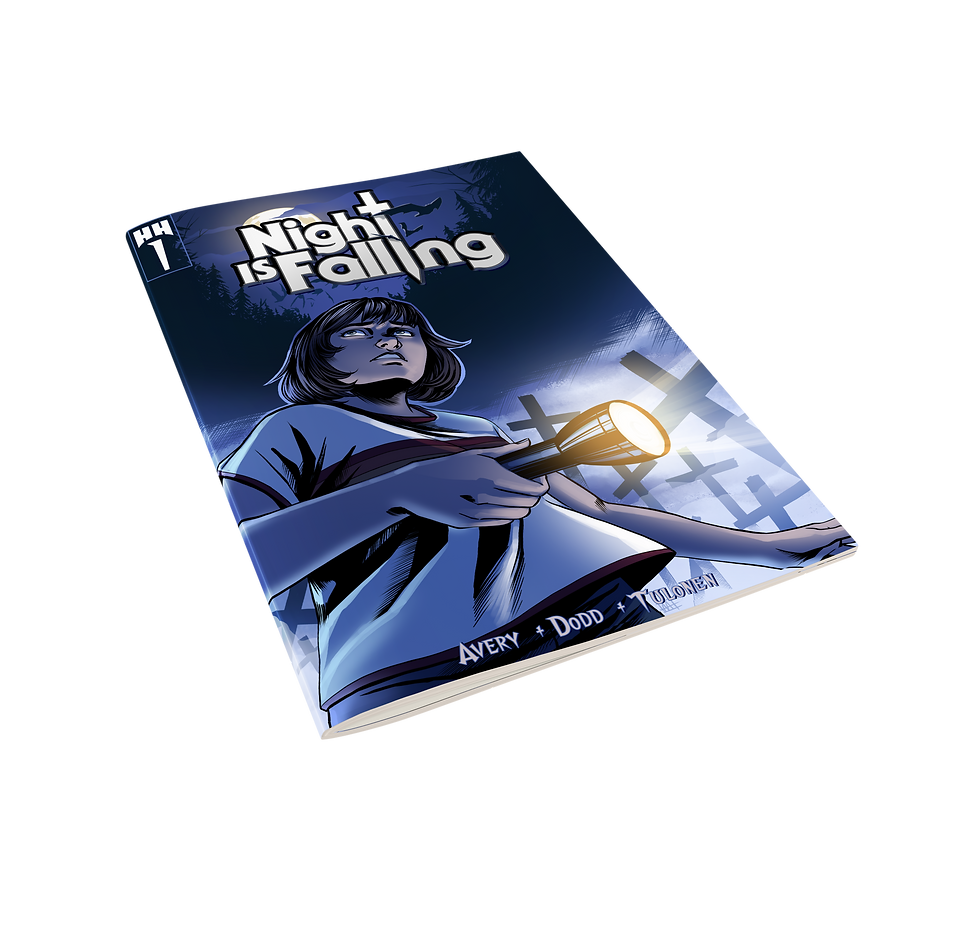 Nigt Is Falling Chapter1 Comic Book