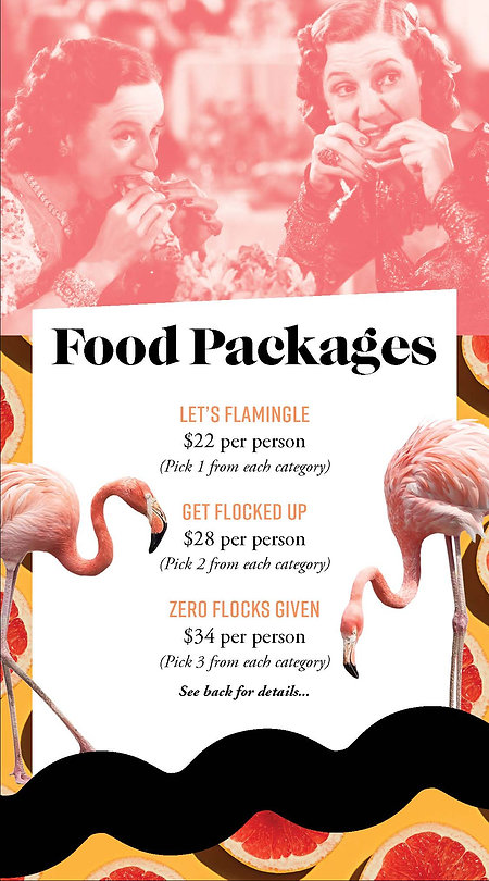 Throw Social Special Events Package Pamp