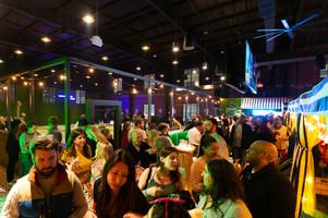 THRōW Social™ Washington, D.C. bar nightclub cabanas