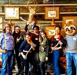 ​kick axe throwing brooklyn new york city DC Philly Orlando Manhattan​