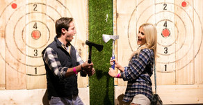 Why Axe Throwing is the Perfect Date