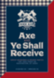 Kick Axe DC Special Events Pamphlet 2.20
